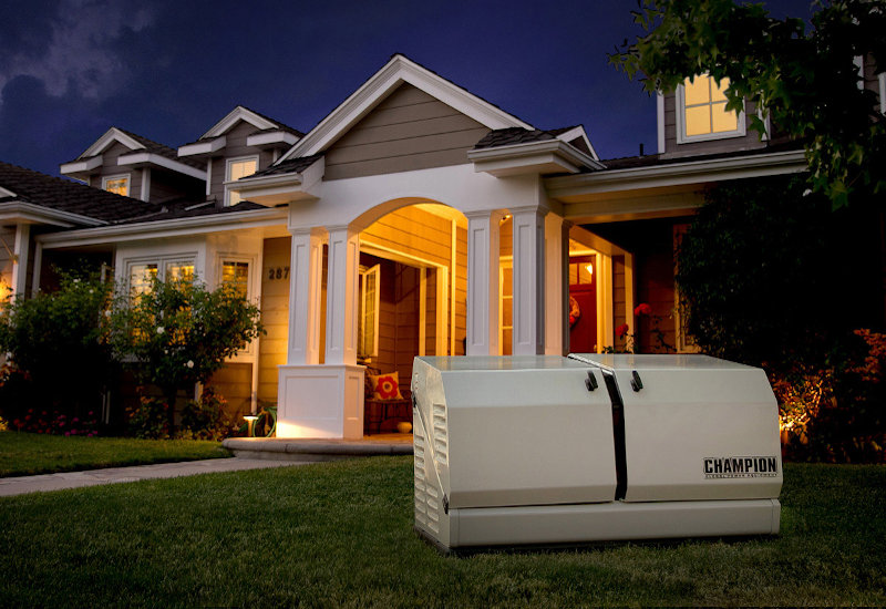 20kW Briggs and Stratton 40584 Home Standby Generator with 200-Amp Symphony II Power Management Automatic Transfer Switch