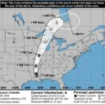 Tropical Storm Cristobal Landfall in Louisana–Heads for Wisconsin