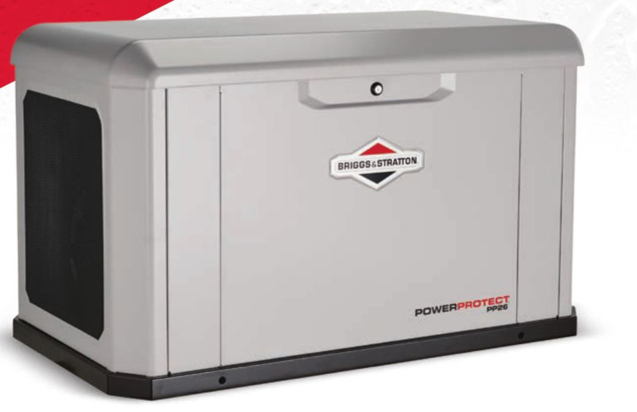 Briggs and Stratton Takes Air Cooled Generators to the Max with 26kW