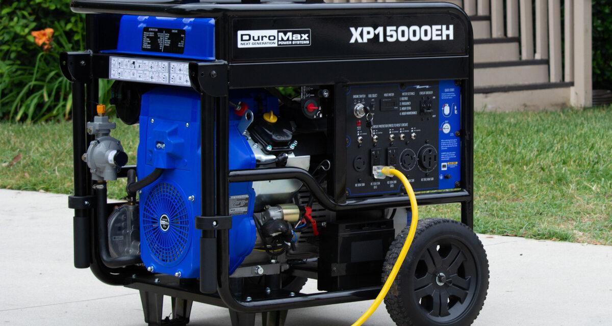 New at Norwall: DuroMax Portable Generators