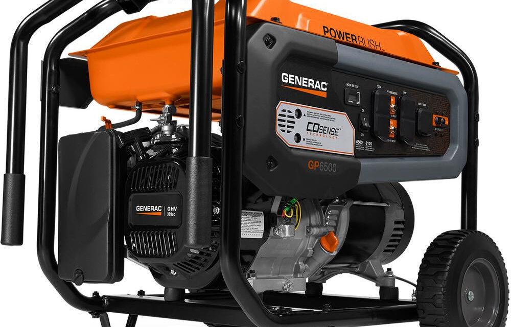 Generac Portable Generator Recall Notice