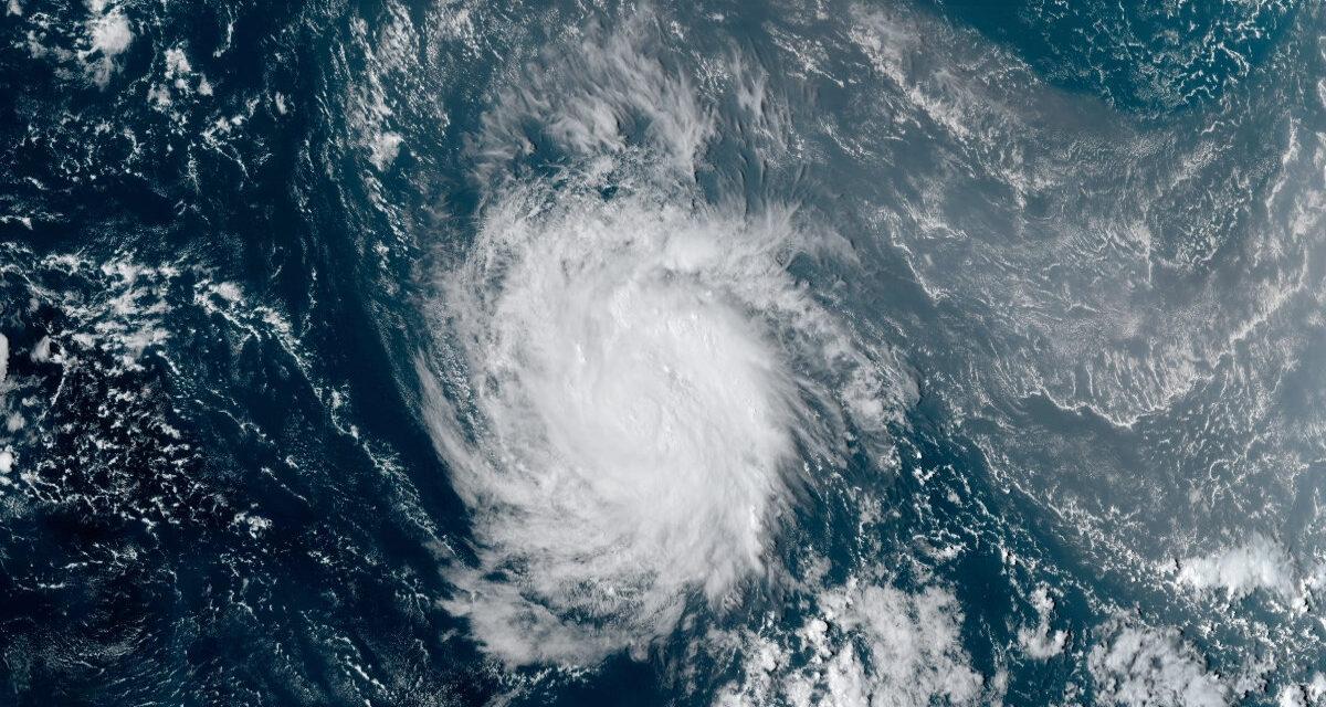 Hurricane Sam Forecast to Reach Category 4 over Weekend