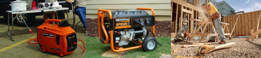 Portable Generator for Home Use Applications